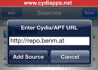 Cydia APT URL