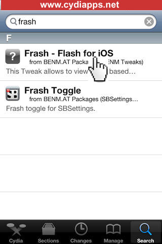 Frash Flash for iOS