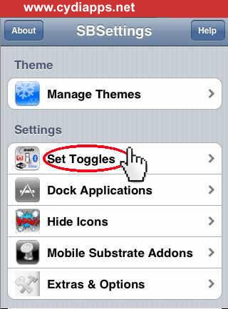 Set Toggles