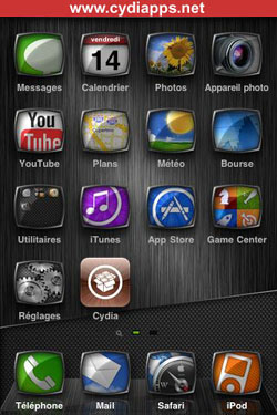 UINique Cydia theme for iphone