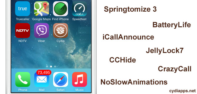 Cydia apps for iOS 8