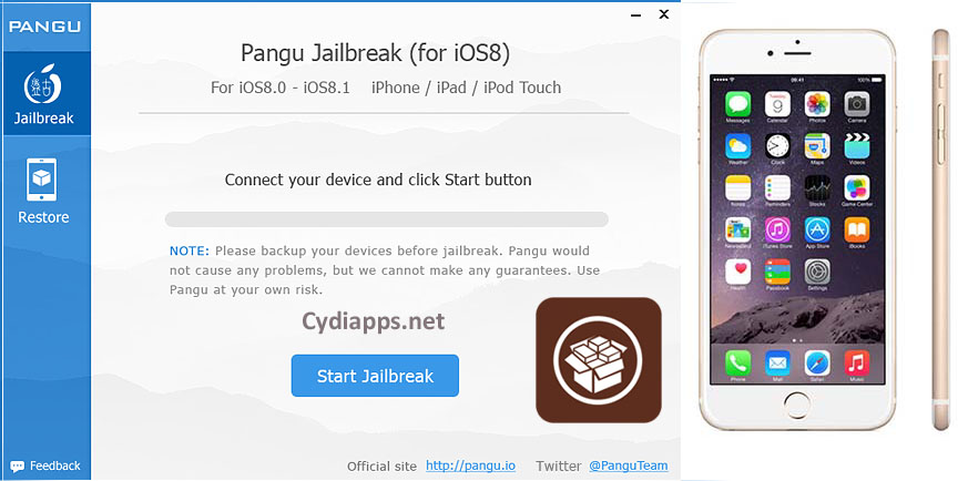 install Cydia on iPhone 6
